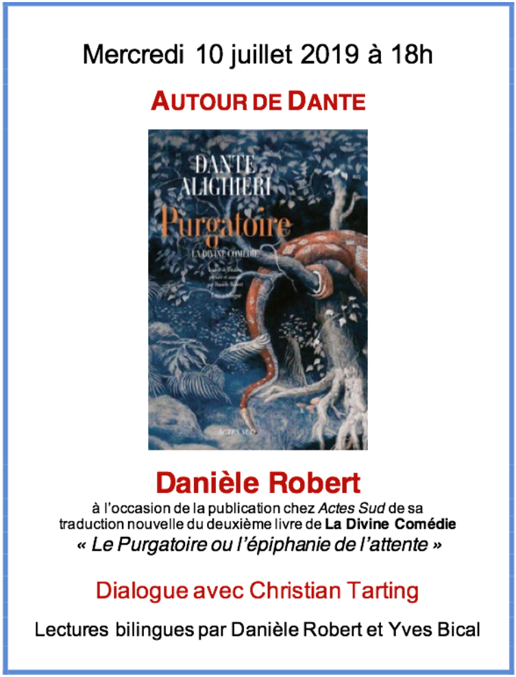 Autour de Dante