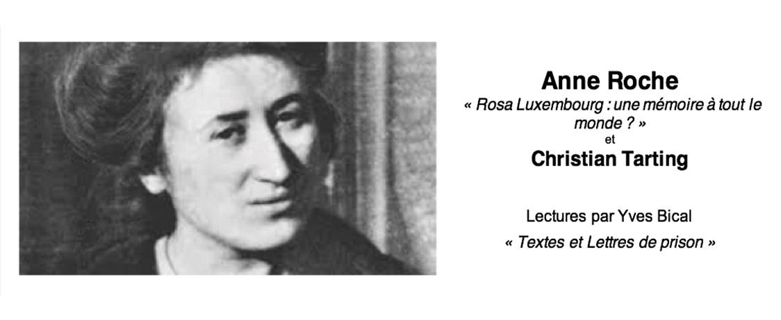 Autour de Rosa Luxembourg